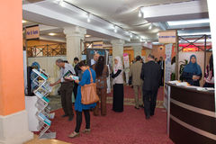 2012 ICT4ALL Exhibition in Tunisia Royalty Free Stock Photos