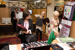 2012 ICT4ALL Exhibition in Tunisia Stock Images