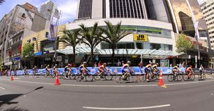 2012 ITU Grote Def. van Triathlon van de Wereld Royalty-vrije Stock Foto