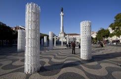 2012 jan lisbon portugal rossiofyrkant royaltyfria foton