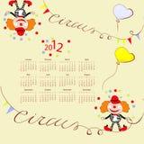 2012 kalendarz Zdjęcia Stock
