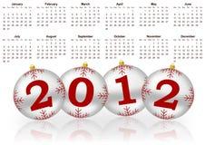 2012 kalendarz Obraz Stock