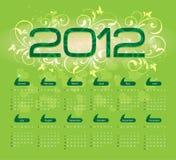 2012 Kalender Stock Foto's