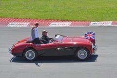 2012 kanadyjskich f1 uroczystych Hamilton Lewis prix wygran Zdjęcie Royalty Free