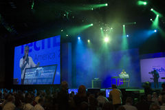 2012 konferencyjnych Microsoft teched Obrazy Stock