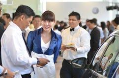2012 kuantan wodowanie Malaysia sala wystawowa Volkswagen Zdjęcia Royalty Free