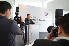 2012 kuantan wodowanie Malaysia sala wystawowa Volkswagen Zdjęcie Royalty Free