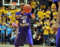 2012 le basket-ball des hommes de NCAA - Drexel - JMU Images stock