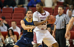 2012 le basket-ball des hommes de NCAA - hiboux de temple Photo libre de droits