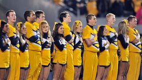 2012 le football de NCAA - état de K - WVU Images libres de droits