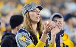 2012 le football de NCAA - état de K - WVU Photos stock
