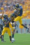 2012 le football de NCAA - Baylor @ WVU Images libres de droits