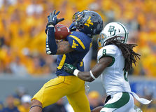 2012 le football de NCAA - Baylor @ WVU Photos libres de droits