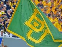 2012 le football de NCAA - Baylor @ WVU Photo stock
