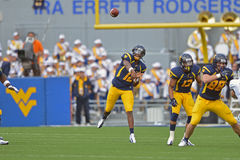 2012 le football de NCAA - Baylor @ WVU Images stock