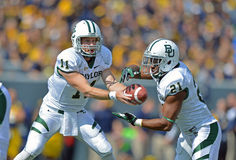2012 le football de NCAA - Baylor @ WVU Photo libre de droits