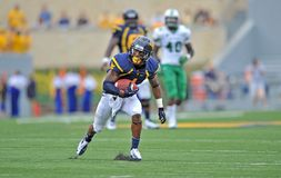 2012 le football de NCAA - WVU contre Marshall Photographie stock libre de droits