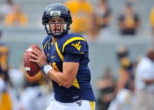 2012 le football de NCAA - WVU contre Marshall Photographie stock