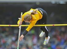 2012 Leichtathletik - Dame-Stabhochsprung Stockfoto