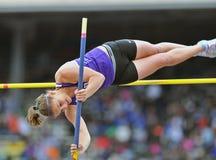 2012 Leichtathletik - Dame-Stabhochsprung Stockbild