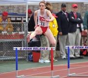 2012 Leichtathletik - Hürden Lizenzfreies Stockfoto