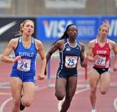 2012 Leichtathletik - Hürden Lizenzfreies Stockbild