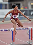2012 Leichtathletik - Hürden Lizenzfreie Stockfotos