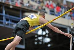 2012 Leichtathletik - School-Stabhochsprung Stockfoto