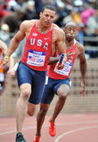 2012 Leichtathletik - Team USA-Relais Lizenzfreie Stockbilder