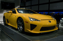 2012 Lexus LFA at NAIAS Royalty Free Stock Photo