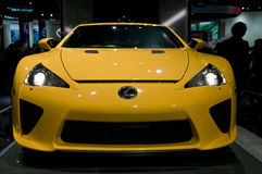 2012 Lexus LFA at NAIAS Stock Photo