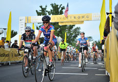 2012 Livestrong event Royalty Free Stock Photo