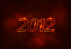 2012 logo Royalty Free Stock Images