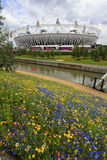2012 London olympic stadium Royalty Free Stock Photo