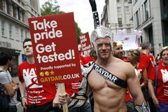 2012, London Pride, Worldpride Royalty Free Stock Photos