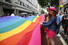 2012, London Pride, Worldpride Stock Photos
