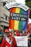 2012 London stolthet, Worldpride Fotografering för Bildbyråer