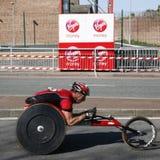 2012, Londyński Maratoński biegacz Zdjęcie Stock