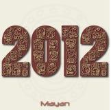 2012 maia ilustração royalty free