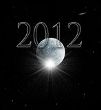 2012 Mayan Prophecy. Illustration of the Year 2012 in Mayan prophecy Royalty Free Stock Images