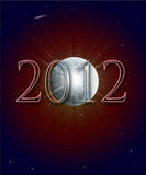 2012 Mayan Prophecy. Illustration of the Year 2012 in Mayan prophecy Stock Images