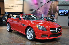 2012 Mercedes Benz SLK Royalty Free Stock Photography