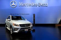 2012 Mercedes ML550 4Matic Stock Afbeeldingen