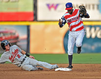 2012 MiLB - Fourth of July in the Minors Stock Photo
