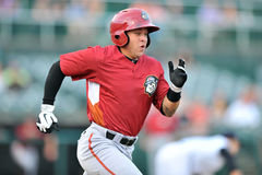2012 Minor League Baseball action Royalty Free Stock Images