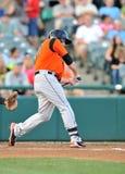 2012 Minor League Baseball batter swing Royalty Free Stock Images