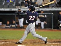 2012 Minor League Baseball - batter swings Royalty Free Stock Photography