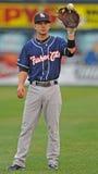 2012 Minor League Baseball - catch the ball Stock Image