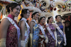 2012 Miss Los Angeles Chinatown Court Royalty Free Stock Photo