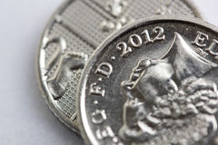 2012 moneta Fotografia Royalty Free